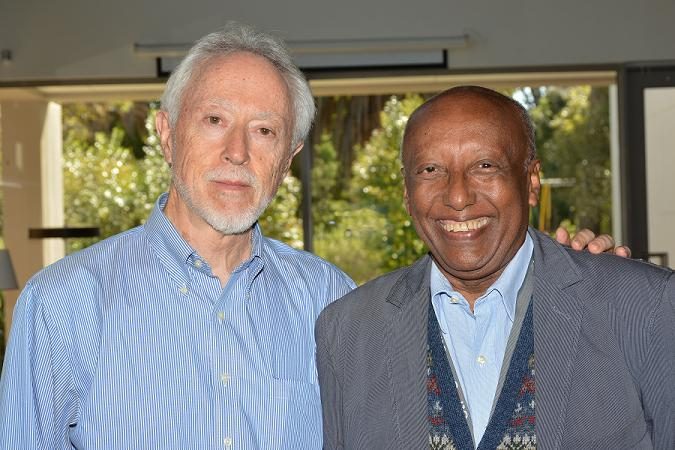 JM Coetzee and Berhanu Abegaz cropped